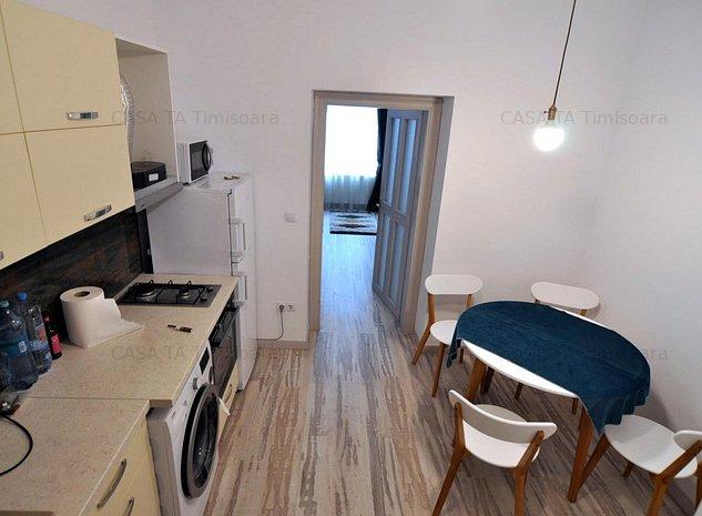 Prima inchiriere, Balcescu, 2 camere la casa cu centrala proprie - imaginea 1