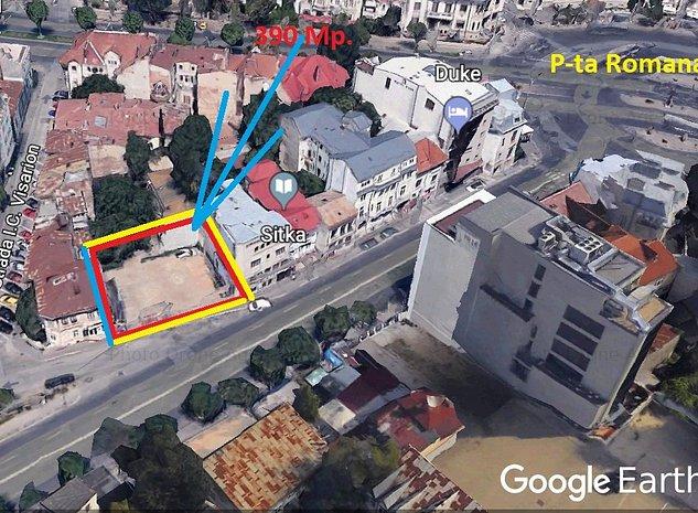 P+6 P-ta ROMANA 400Mp D=20m Birouri, Hotel, Spital , - imaginea 1