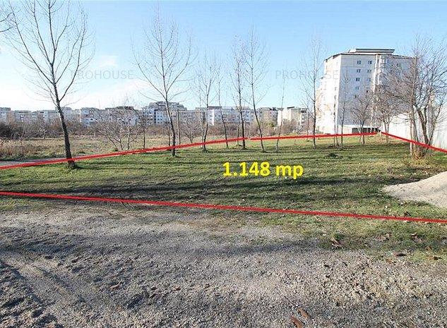 Stefan cel Mare - teren constructie bloc - 1.148 mp - imaginea 1