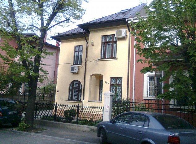 Cotroceni -Carol Davila, inchiriere vila renovata S+P+1+M, 290mp utili - imaginea 1