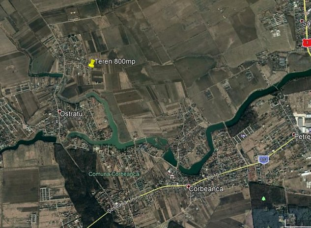 Corbeanca - str Margaritarului - zona asezata de case - imaginea 1