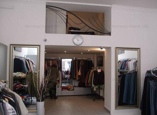 Spatiu comercial Centru Istoric cu vitrina generoasa si vad comercial - imaginea 1