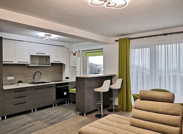 Apartament 2 camere bloc nou Afi Mall500 Euro - imaginea 1