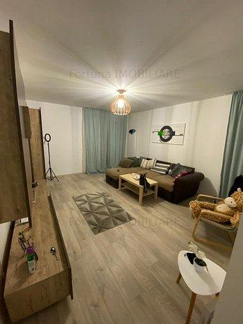Apartament 2 Camere mobilat  Mall Coresi 330 Euro - imaginea 1