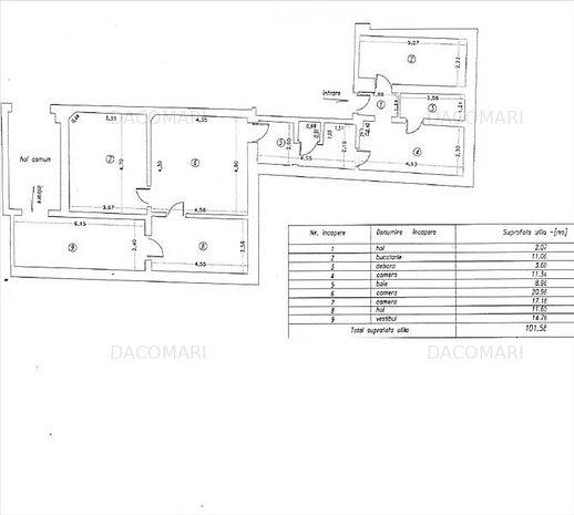 Apartament in casa, Centru, 55.000 Euro - imaginea 1