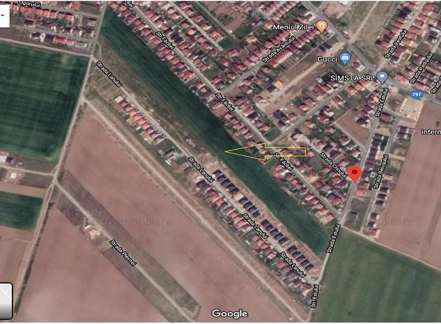 Vindem parcele de 500 mp teren intravilan in Santandrei  - imaginea 1