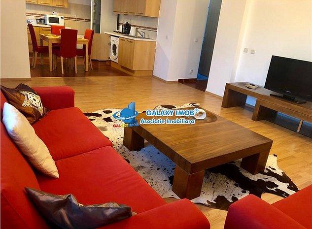 Inchiriere apartament 2 camere 75 mp Baneasa Greenfield - imaginea 1