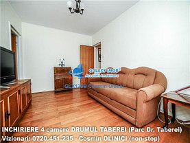 Apartament de închiriat 4 camere, în Bucuresti, zona Drumul Taberei