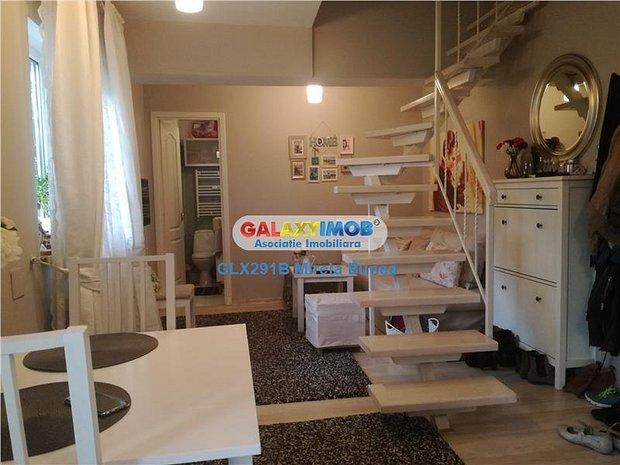 2 camere tip duplex Brancoveanu-Lamotesti mobilat lux-mansarda - imaginea 1