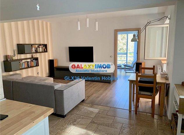 Vanzare apartament 3 camere mobilat utilat lux Baneasa Greenfiled - imaginea 1