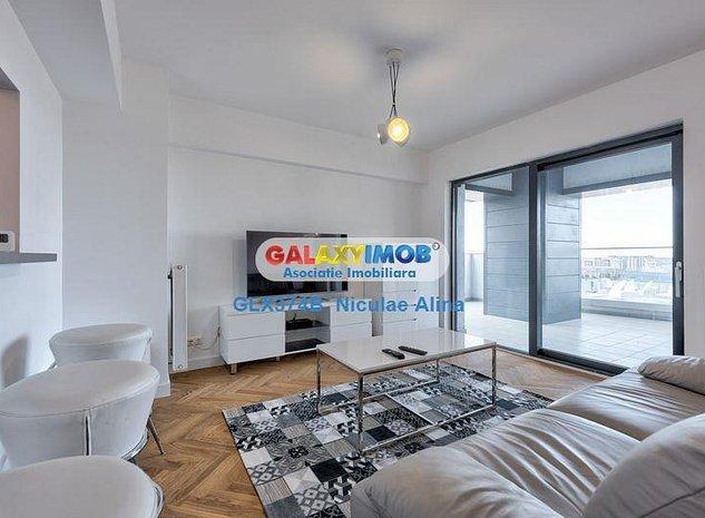 Apartament 3 camere terasa 25 mp prima inchiriere complex UpGround - imaginea 1