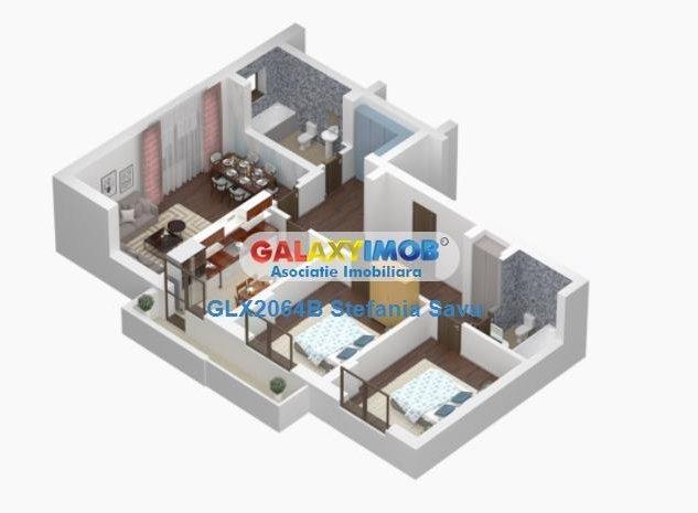 Apartament 3 camere nou Parc Carol - imaginea 1