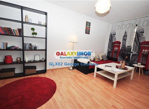 Vanzare apartament 2 camere mobilat,bloc 1983, Liviu Rebreanu Auchan - imaginea 1