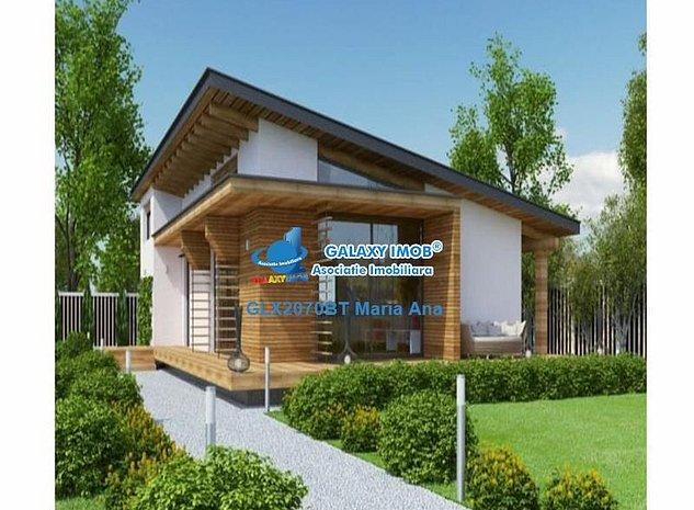 Casa 175 mp., cu teren, proiect ! - imaginea 1
