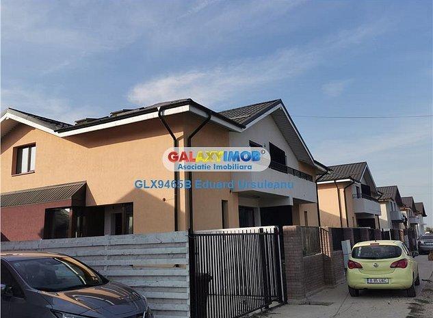 NOU* Vila 5 camere Ambasador Residece Magurele, toate utilitatile - imaginea 1