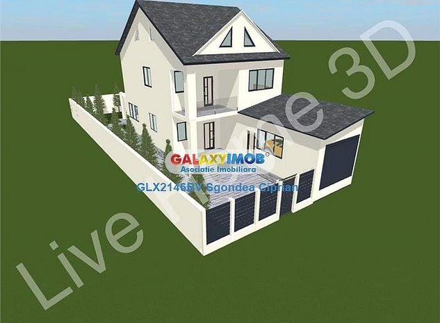 Casa si spatiu comercial 550 mp de teren - imaginea 1