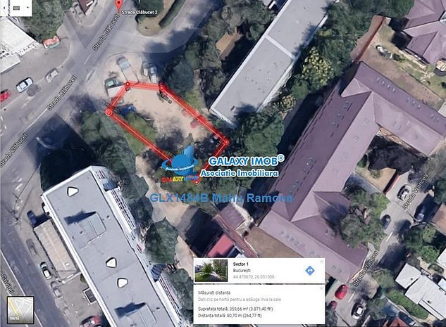 Vanzare teren 360 mp - Pta. Chibrit, str. Clabucet - imaginea 1