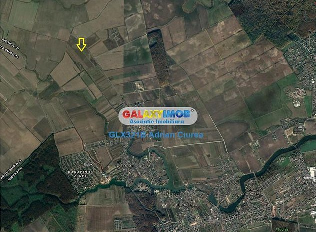 Teren 25.000 mp, Ostratu, Comuna Corbeanca, Paradisul verde - imaginea 1