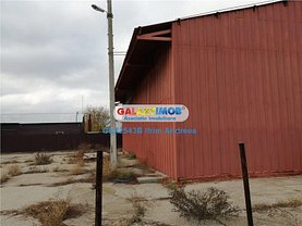 Vânzare spaţiu industrial în Braila, Central