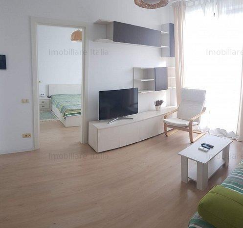 Apartament 2 camere, bloc nou, mobilat ultra modern, utilat complet - imaginea 1