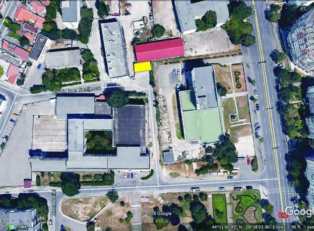 Teren intravilan situat in spatele Liceului de Arte si a Universitatii Saguna - imaginea 1