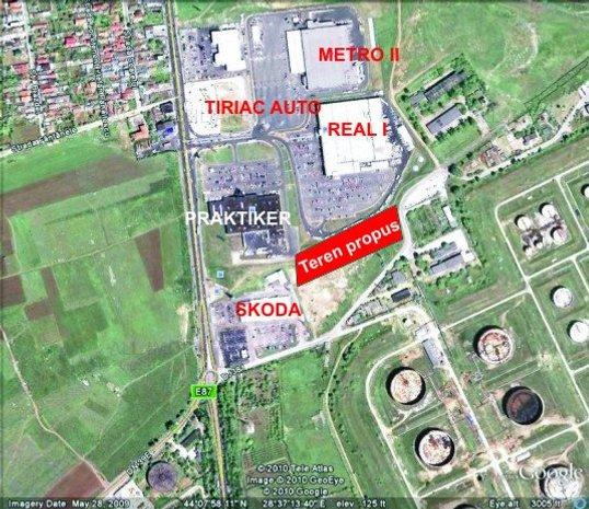Teren intravilan cu destinatie Industriala - imaginea 1