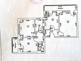 Apartament de vânzare 3 camere, în Brăila, zona Obor
