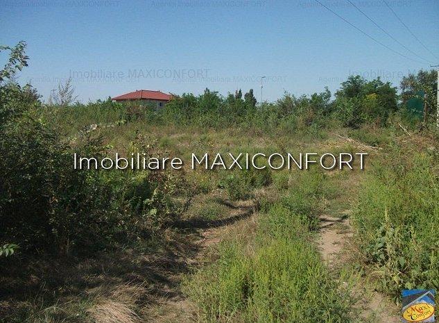 Vanzare teren-Imobiliare MAXICONFORT - imaginea 1