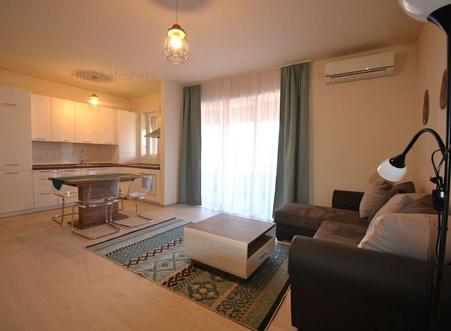 Apartament in bloc nou cu 2 camere in zona Braytim - imaginea 1