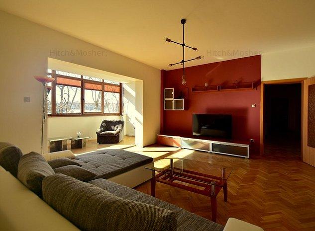 Apartament 4 camere - de inchiriat - zona Piata Doina-Sagului - imaginea 1