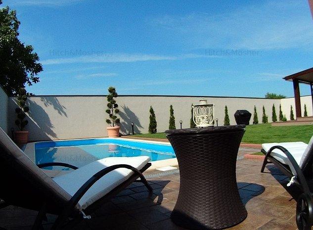De vanzare, casa cu architectura moderna, piscina acoperita, Timisoara - imaginea 1