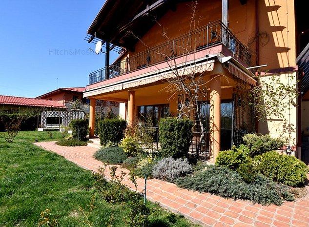 Vila in zona Clubului Tivoli, cu teren generos si iesire catre lac - imaginea 1