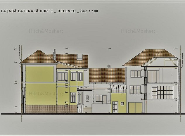 Imobil situat central cu proiect de transformare in hotel - Timisoara - imaginea 1