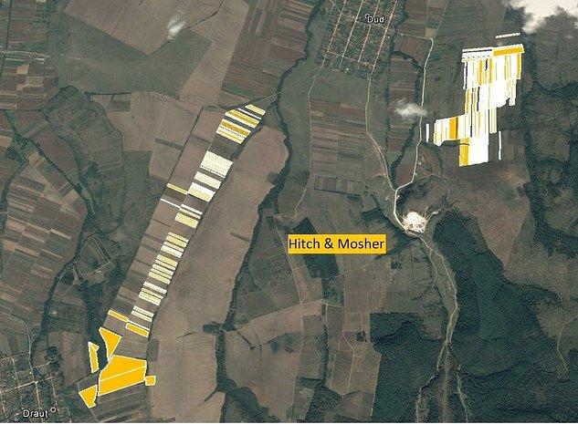 De vanzare teren agricol, situat in judetul Arad - imaginea 1