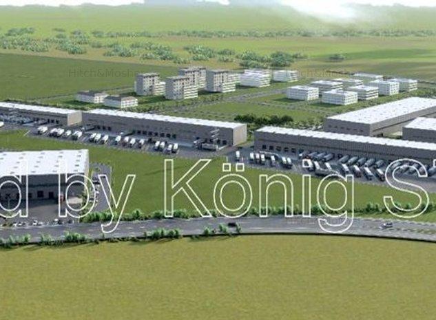 Teren intravilan de vanzare - logistica, industrie nepoluanta, comert, Timisoara - imaginea 1