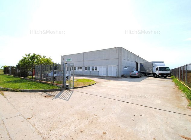Spatiu industrial de 1,340mp de inchiriat in zona Sagului - imaginea 1
