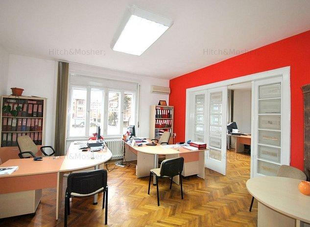 Spatiu de birouri de inchiriat pe Take Ionescu, la parter - imaginea 1