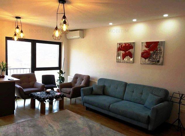 Mobitim vinde penthouse, 100mp, zona Borhanci - imaginea 1