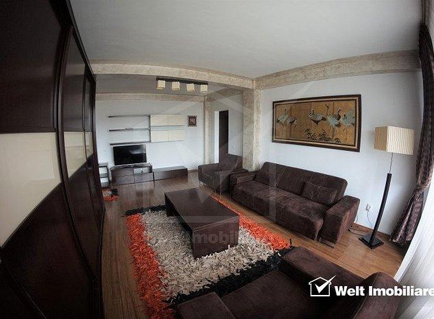 Inchiriere apartament 2 camere decomandate, Marasti, 2 locuri de parcare - imaginea 1
