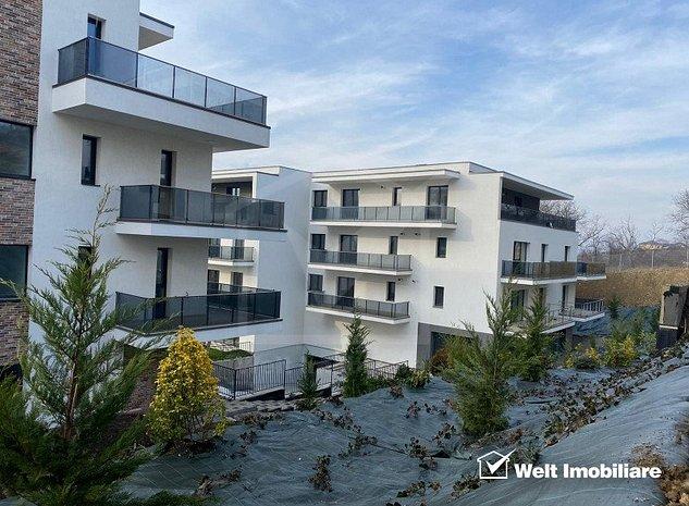 Apartament 3 camere,78,63 mp plus terasa 77 mp, zona Borhanci - imaginea 1