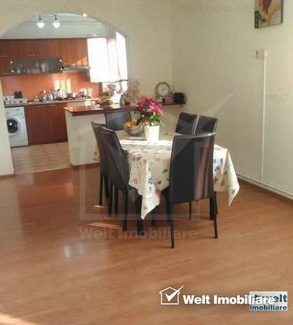 Apartament la vila, 4 camere, pe 2 niveluri, zona Marasti - imaginea 1