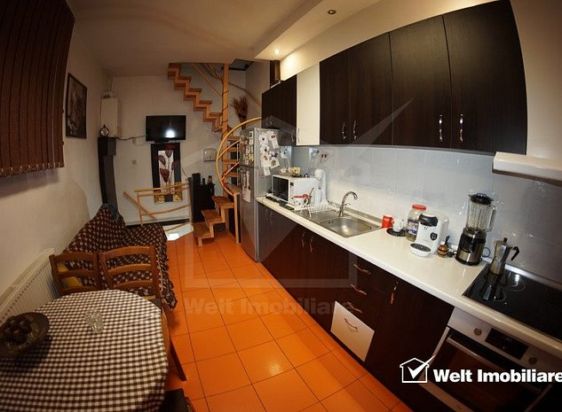 Apartament in casa ideal birou sau spatiu comercial, Interservisan, Gheorgheni - imaginea 1