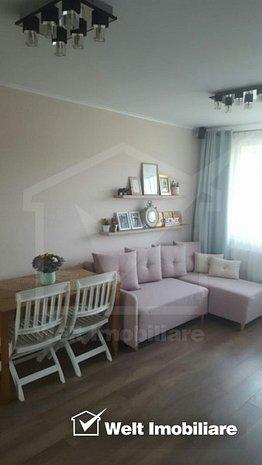 Vindem apartament cu 3 camere, 51 mp, et. intermediar, mobilat, utilat, cu garaj - imaginea 1