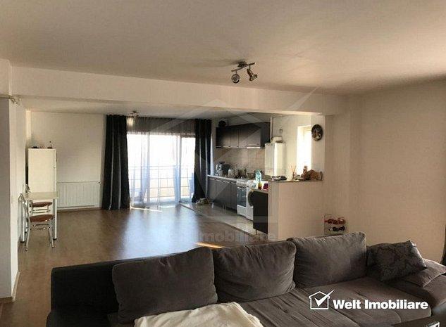 Apartament 3 camere, decomandat, 123 mp, 3 terase, garaj subteran, zona Clujana - imaginea 1