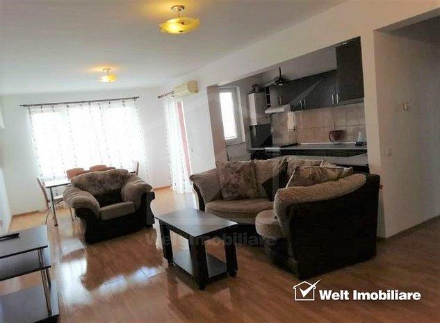 Inchiriere apartament 2 camere, decomandat, 70 mp, modern, Piata Zorilor - imaginea 1