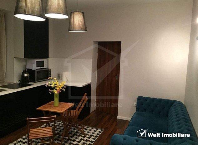 Apartament 2 camere la cheie, finisat, mobilat modern, zona Motilor - imaginea 1
