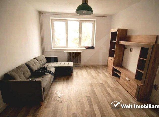 Apartament 2 camere, 45mp, utilat, mobilat, recent renovat, Grigorescu - imaginea 1
