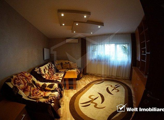 Inchiriere apartament cu 2 camere, 51 mp, decomandat, Manastur, zona Kaufland - imaginea 1