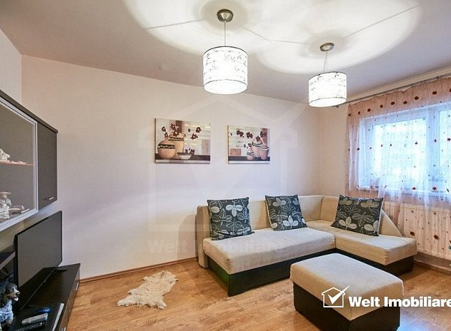 Apartament 2 camere decomandat, etaj intermediar, zona Profi, cartier Grigorescu - imaginea 1