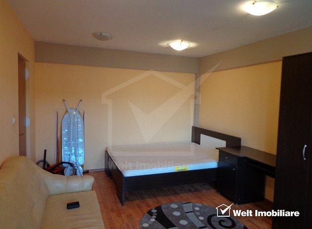 Apartament decomandat cu 1 camera, 38 mp balcon 9 mp etaj 1 din 4 Zorilor - imaginea 1